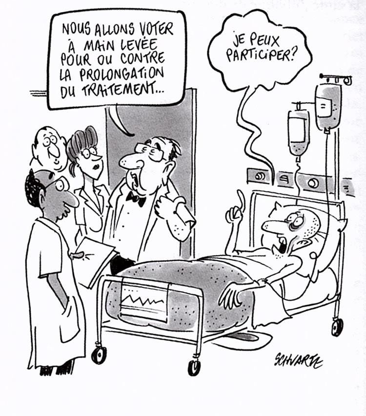 Bien-aimé Sélection de dessins humoristiques médicaux UL28