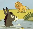 Les césariennes, l'âne et le lion